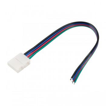 Коннектор выводной FIX-RGB-10mm-150mm-X1 (4-pin) (ARL, -)