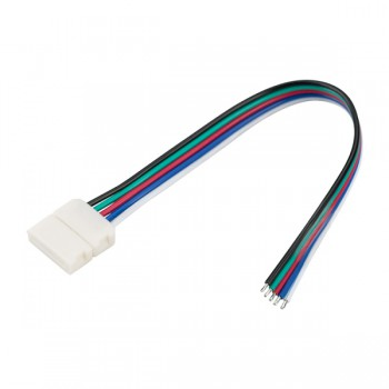 Коннектор выводной FIX-RGBW-12mm-150mm-X1 (5-pin) (ARL, -)