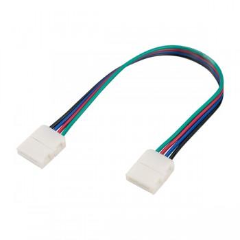 Коннектор выводной FIX-RGB-10mm-150mm-X2 (4-pin) (ARL, -)