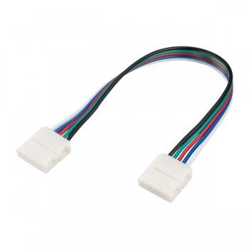 Коннектор выводной FIX-RGBW-12mm-150mm-X2 (5-pin) (ARL, -)