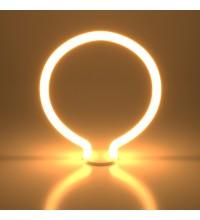 BL156 / Светодиодная лампа Decor filament 4W 2700K E27 round белый матовый