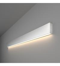 101-100-30-103 / Линейный светодиодный накладной односторонний светильник 103см 20W 4200K матовое серебро