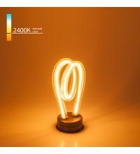 BL152 / Светодиодная лампа Art filament 4W 2400K E27 spiral