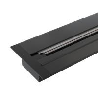 TRLM-1-100-BK / Встраиваемый однофазный шинопровод черный (1м.)