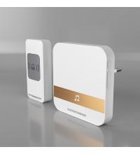 DBQ24M WL 52M IP44 / звонок электрический бытовой (дверной) / Белый