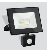 030 FL LED / Прожектор Elementary (с датчиком) 50W 6500K IP44