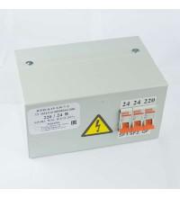 Ящик с понижающим трансформатором ЯТП 0.25 220/42В (3 авт. выкл.) Кострома ОС0000002236