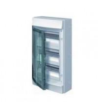 Бокс настенный 36М прозр. дверь (3 ряда) Mistral65 (с клемм) ABB 1SLM006501A1206