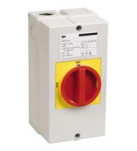 Переключатель кулачковый ПКП25-13/К 25А на 2 полож. откл. - вкл. 400В ИЭК BCS33-025-1