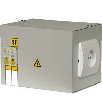 Ящик с понижающим трансформатором ЯТП 0.25 220/42В (2 авт. выкл.) ИЭК MTT12-042-0250