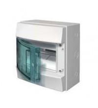 Бокс настенный 8М прозр. дверь Mistral65 (с клемм) ABB 1SLM006501A1201