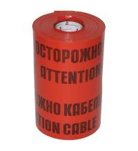 """Лента сигнальная ЛСЭ-450мм """"Осторожно кабель"""" красн. (рул.100м) Протэкт ЛСЭ-450/100 кр/ч"""