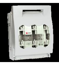 Выключатель-разъединитель УВРЭ 160А откидной с предохранителем ППН (габ. 00) EKF uvre-160