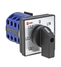 Переключатель кулачковый ПК-1-64 10А для вольтметра EKF pk-1-64-10
