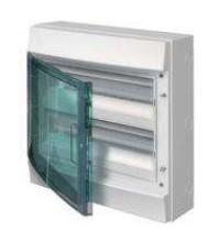 Бокс настенный 36М прозр. дверь (2 ряда) Mistral65 (с клемм) ABB 1SLM006501A1205