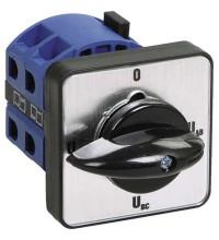 Переключатель кулачковый ПКП10-44/О 10А на 4 полож. Uc-O-Ua-Ub 400В ИЭК BCS14-010-4