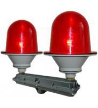 Сдвоенный заградительный огонь малой интенсивности 2 * ЗОМ-75Вт-АВ >10cd, type «А», антивандальный