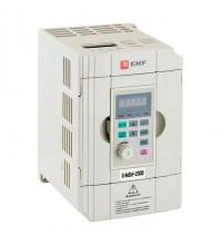 Преобразователь частоты 0.4/0.75кВт 1х230В VECTOR-100 PROxima EKF VT100-0R4-1B