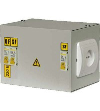 Ящик с понижающим трансформатором ЯТП 0.25 220/24B (3 авт. выкл.) ИЭК MTT13-024-0250