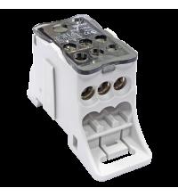 Блок распределительный КРОСС крепеж на панель и DIN КБР-125А EKF plc-kbr125