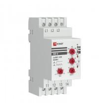 Реле контроля фаз РКФ-8 многофукц. EKF rkf-8