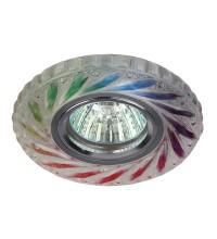 Светильник DK LD13 SL RGB/WH декор cо светодиодной подсветкой MR16 мультиколор ЭРА Б0028090