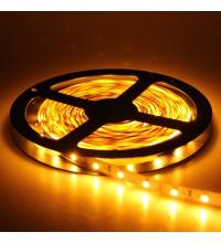 Лента светодиодная LED603 4.8W 12V 5 метров тепло-белый Feron