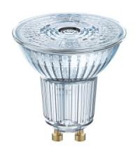 1-PARATHOM PAR16 80 60° 8W/827 DIM 230V GU10 575lm d50x58 OSRAM лампа светодиодная диммируемая