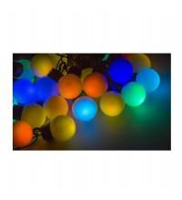 """Гирлянда """"LED ШАРИКИ"""" 10мх4.5см 40LED 5Вт 220В IP44 RGB NEON-NIGHT 303-579"""
