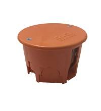 Коробка распр. СП круглая 68х45 IP20 для полых стен негорюч.оранж. ГУСИ С3В70КГ Нг Евро