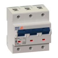 Выключатель автоматический модульный 3п C 80А OptiDin BM125 8ln УХЛ3 КЭАЗ 138543