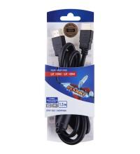 Шнур HDMI - HDMI gold 1.5м с ферритами блист. Rexant 06-3101