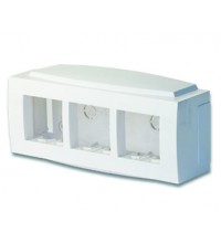Коробка установочная под BRAVA 6мод. (для кабель-канала 70х22/90х25/TMC) ДКС 09221