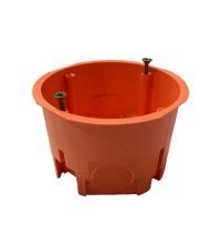 Коробка установочная СП 68х45 IP30 для сплошных стен негорюч. оранж. ГУСИ С3М2 Нг Евро