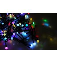 """Гирлянда """"LED ШАРИКИ"""" 10мх1.75см 100LED 30Вт 220В IP44 RGB NEON-NIGHT 303-509-2"""
