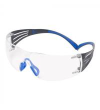 Очки открытые защитные из поликарбоната с покрытием Scotchgard™цвет линз прозр. с обтюратором SecureFit™ 401 SF401SGAF-BLU-EU 3М 7100148073