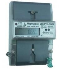 "Счетчик ""Меркурий"" 206 RN 1ф 5-60А 1.0/2.0 класс точн. многотариф. оптопорт RS485 ЖКИ Моск. вр. Инкотекс М0000051785"