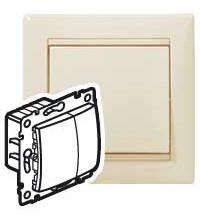 Механизм светорегулятора СП Valena 60-600Вт сл. кость (DIY-упак.) Leg 695629