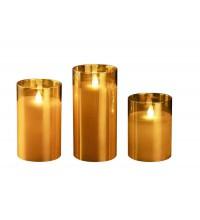 Свеча декоративная CL7-SET3-gd (компл. 3-х свечей зол.) ФАZА 5018822