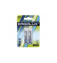 Аккумулятор AAA-1100мА.ч Ni-Mh BL-2 NHAAA1100BL2 1.2В (блист.2шт) Ergolux 12446