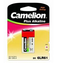 """Элемент питания алкалиновый """"крона"""" LR 6LF22 BL-1 (блист.1шт) Camelion 1655"""