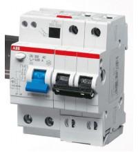 Выключатель авт. диф. тока 2п 4мод. C 16А 30мА тип AC 6кА DS202 ABB 2CSR252001R1164