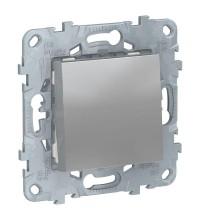 Выключатель 1-кл. UNICA NEW (сх.1) 10AX 250В алюм. SchE NU520130