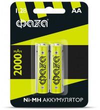 Аккумулятор AA 2000мА.ч Ni-MH BL-2 (уп.2шт) ФАZА 5002975