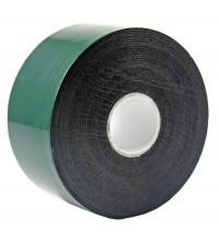Скотч двустор. 40ммх5м зел. на черной основе REXANT 09-6140
