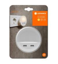 Светильник LUNETTA USB 13Вт 3000К 3лм 220-240В IP20 с сенсором бел. и USB LEDVANCE 4058075266902