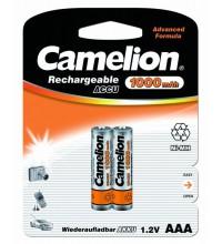 Аккумулятор R03 NI-MN 1000мА.ч BP-2 (блист.2шт) Camelion 6182