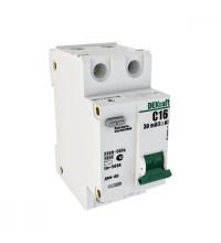 Выключатель авт. диф. тока 1Р+N 40А 30мА AC х-ка С ДИФ-103 4.5кА со вст. защ. от сверхтоков DEKraft 16017DEK