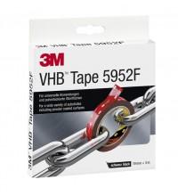 Лента монтажная двусторонняя VHBТМ 5952 F основа вспененный акрил адгезив VHВ 19ммх3м черн. 3М 7100211813