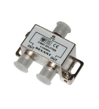 """Делитель ТВ """"краб"""" х2 под F разъем 5-1000 МГц Rexant 05-6001"""
